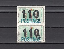 Guyana, Scott cat. 456. Scout value. POSTAGE & 110 o/prints. 2  Diff. Zero`s.