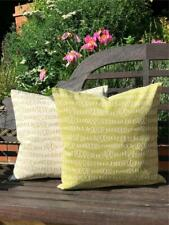 Biggie Best Scribbles Lime Green Feather Cushion