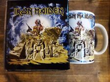 IRON MAIDEN - Somewhere Back in Time - mok/tas/mug/tasse -New/Boxed