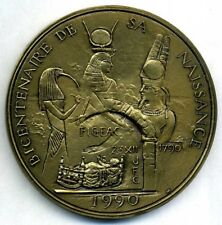 France – CHAMPOLLION – EGYPT bronze medal by R. Corbin / 80 mm / N143