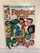 Official Marvel Index to the Fantastic Four #1 - 1985