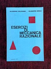 Esercizi di Meccanica Razionale Colombo Grioli Borghero 1964