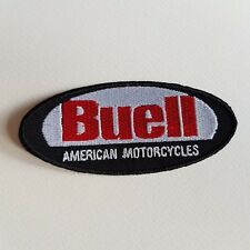A418 PATCH ECUSSON BUELL ROUGE ET NOIR 10*4,5 CM