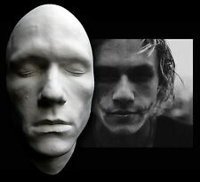 I Am Heath Ledger Half Face Life Mask Lifecast Bust Dark Knight Joker Hot Toys