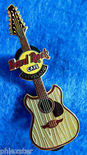 CLEVELAND FANTASY GUITAR SERIES WOOD GRAIN STRIPES 2003 Hard Rock Cafe PIN LE