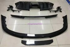 For Ferrari 458Italia/Spider Carbon Fiber Set Side Skirt Front&Rear Bumper Trim
