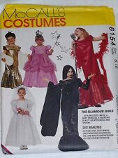 McCalls 6154 Glamour Girls Costumes Sewing Pattern Bride Princess Superstar 8-10