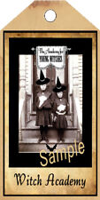 PRIMITIVE 10 HALLOWEEN WITCH ACADEMY HANG TAGS