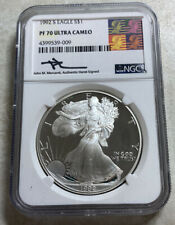 SKU #1074 1992 1 oz Silver American Eagle BU
