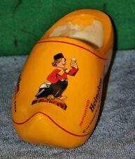 Vintage HEINEKEN BEER WOODEN SHOE ADVERTISING DISPLAY New in Package
