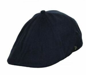 New Era 9 newsboy tweed duckbill black Small or khaki XXL unisex cap hat
