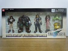 Final Fantasy 7 VII Figure Set Cloud Barrett Aeris Tifa figures Bandai 1998 New