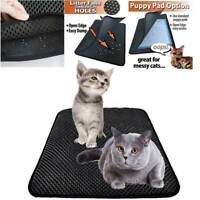 Cat Litter Mat  Double Layer Cat Litter Trapper Trays Waterproof Bottom Layer