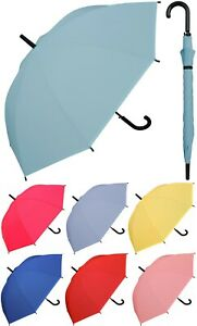 "46"" Arc Doorman, EVA Material, Black Handle Umbrella - RainStoppers,Rain/Sun"