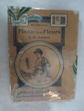 """Blanchon """"Plantes et Fleurs à la maison"""" /Librairie Armand Colin 1913"""