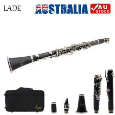 17 Key Bb Clarinet Flat Soprano Binocular For School Student Beginner O1S4