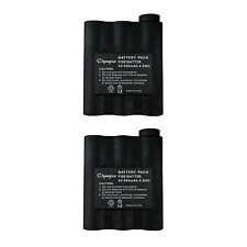 2x 800mAh NI-MH Two-way Radio Battery for Midland BATT-5R BATT5R AVP7 AVP-7