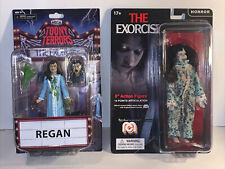 Neca Toony Terrors REGAN The Exorcist  Action Figure Series 4 Mego 8? Lot of 2