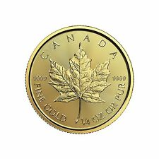 2017 1/4oz Canada Gold Maple Leaf BU