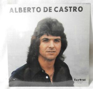 "ALBERTO DE CASTRO ""S/T"" 1977 (Sandral) Original Autographed NEW/SEALED!!!"