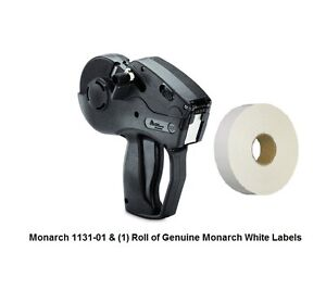 NEW MONARCH 1131-01 WITH 2,500 LABELS & INK ROLLER *FREE SHIPPING!*LOWEST PRICE*