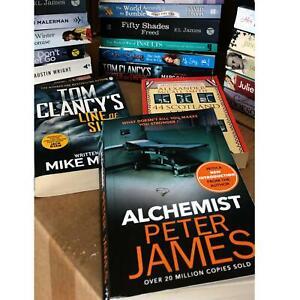 Joblot Wholesale of 10 Paperback Fiction Books Bundle book great quality