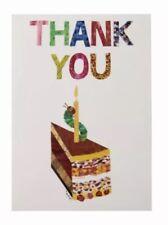 Talking Tables Oruga Muy Hambrienta Papel Decorativo tarjetas de agradecimiento para 1st