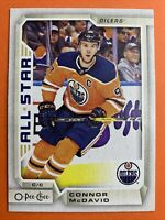2018-19 O-Pee-Chee Hockey Base All-Star #1 Connor McDavid Edmonton Oilers