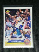 1992 Upper Deck Basketball DIKEMBE MUTOMBO #P10 Denver Nuggets MINT HOF