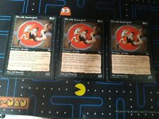 Lot 3x Sliver Fouetesprit Mindwhip Sliver Tempete Card Magic MTG Rare Vf Fr