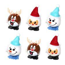 6 Wind Up Kids Christmas Toy Stocking Remplissage-Secret Santa Cadeau De Noël Décoration