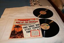 WAR OF THE WORLDS-2LP Original Radio Cast with Gatefold Cover with dialogue