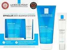 La Roche Posay EFFACLAR Anti Blemish System 2 Step Kit Cleanser/Moisturiser