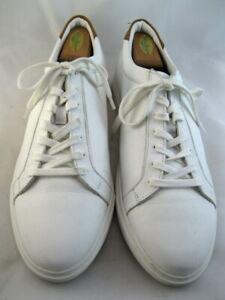 "NEW Allen Edmonds ""COURTSIDE"" Sneakers 13 D  White  (428)"