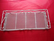 Vtg. LARGE White Metal Over The Toilet Storage Organizer Bath Bathroom Decor