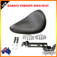 Softail Leather Solo Seat Torsion Spring Mounting Bracket Harley Bobber Yamaha