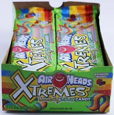 Airheads Xtremes Sour Candy Rainbow Berry 3 Ounce (Pack of 12) Airheads