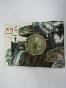 The Great Cars by Ralph Stein Hardcover Dust Jacket 1967