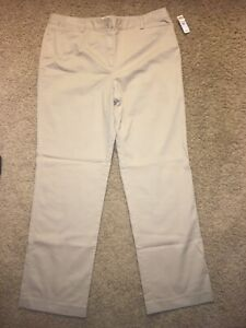 Woman's Talbots Beige Pant  ~ Size 14 ~ New With Tags Casual