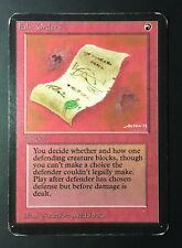 1x False Orders ALPHA limited edition Vintage ABU MTG Funzzzo