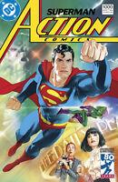 ACTION COMICS #1000 1980'S MIDDLETON VARIANT DC COMICS SUPERMAN MILESTONE