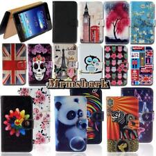 Flip Leather Wallet Card Stand Cover Case For Various Asus ZenFone SmartPhones