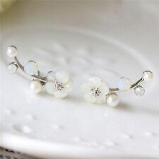 Earrings Studs Earrings Jewelry In Yn Chic Lady Pearl Daisy Flowers Ear Cuff