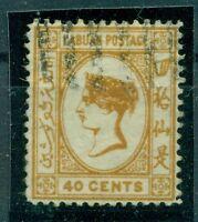 Labuan, Königin Victoria, Nr. 37 b gestempelt