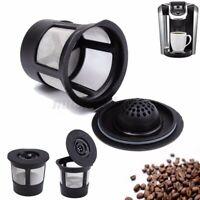 1-6 Packs Reusable K-Cup Coffee Filter Pod Mesh Cup For Keurig K65 K75 Coffe