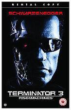 Deleted Title VHS Films Arnold Schwarzenegger
