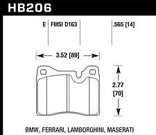 Disc Brake Pad Set-P300 Front Hawk Perf HB206E.565