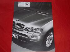 BMW X5 E53 3.0i 4.4i 4.8is 3.0d Preisliste von 2005