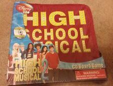 Disney High School Musical 2 - CD Board Game Red Zip Up Case NEW NIP
