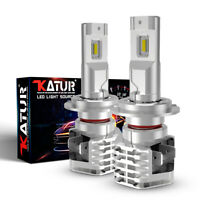 KaTur H4/H7/H11/9005/6 CSP LED Fog Light Bulbs Car Driving Lamp DRL 6500K White